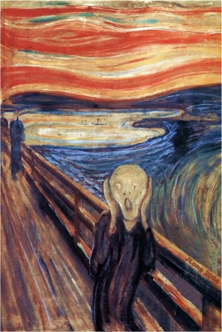 Image result for munch the scream
